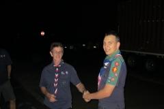 Scouts go climbing