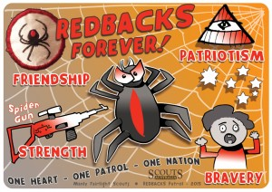 Redbacks flag copy